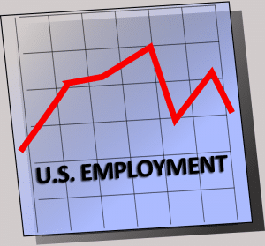 U. S. Employment - Digital Recruitment Graphic
