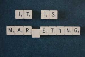 It is Marketing.