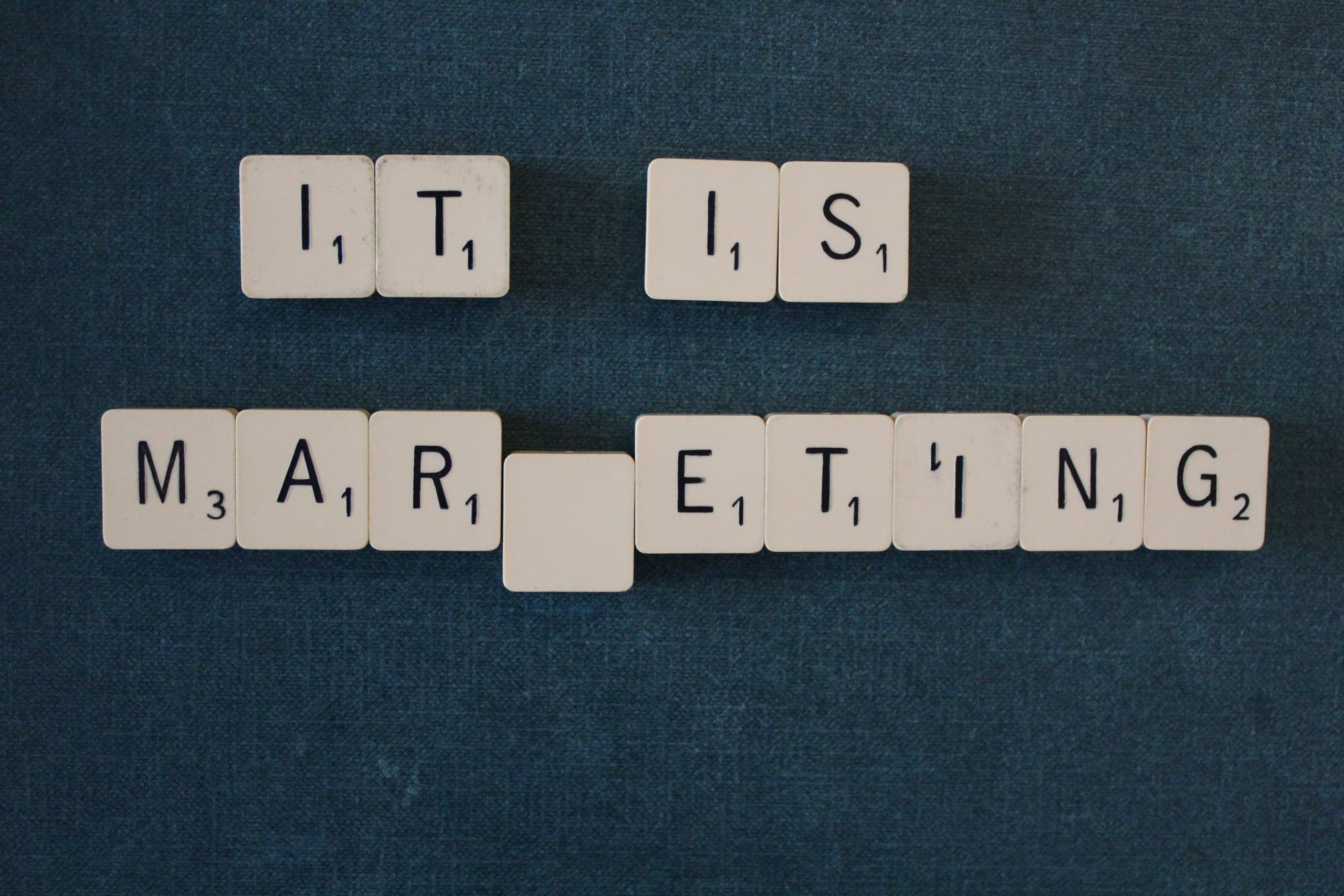 It is Marketing.