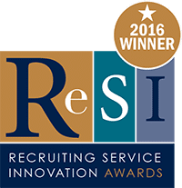 RESI Recruiting Service Innovation Awards 2016 Winner - Digi-me.com