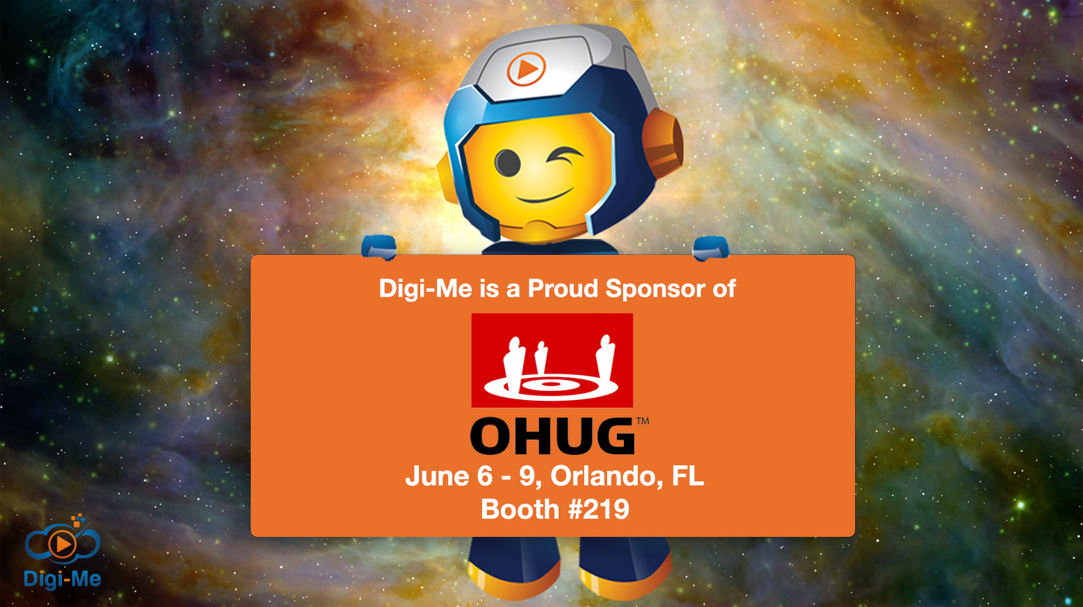 Digi-Me is a Proud Sponsor of the OHUG 2017 Global Conference