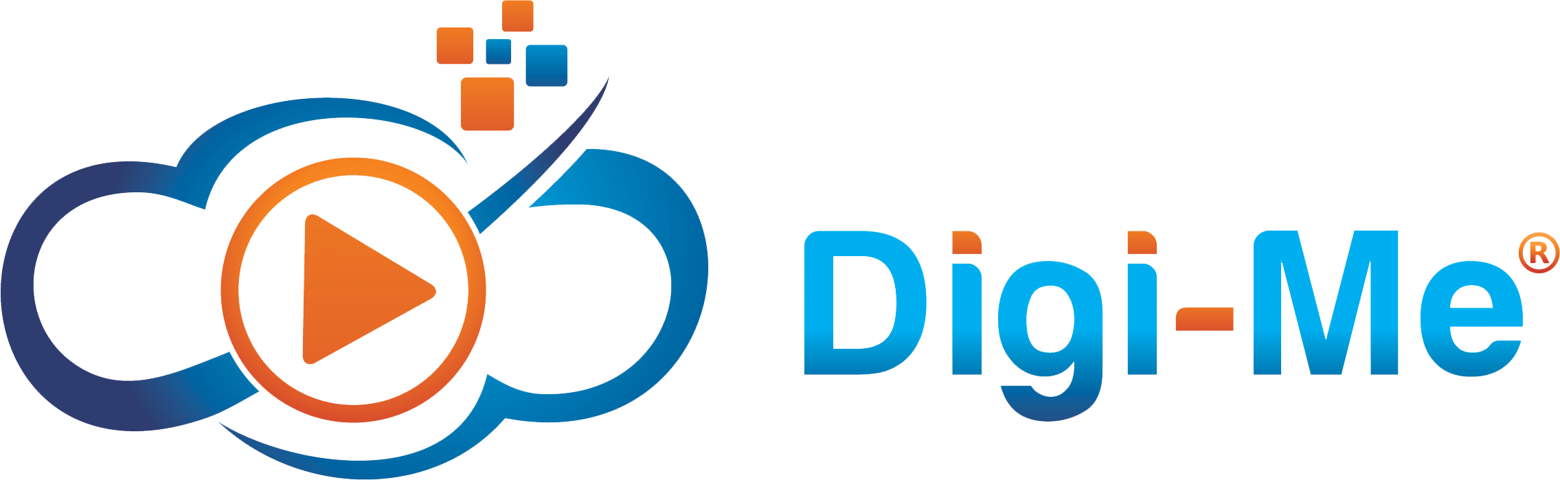 Digi-me Job Video Company Registered Logo in the Long Form